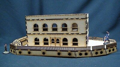 Wargames Scenery Grand Paddleboat Wild West - Great for Malifaux