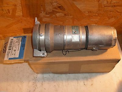 Crouse Hinds Arktite M4 Cord Connector Ar6365 60 Amp 2 Wire 3 Pole 250Vdc 600Vac