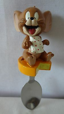 Warner Brothers 2001 Tom And Jerry Avenue Of Stars Jerry Cheese Spoon #G398