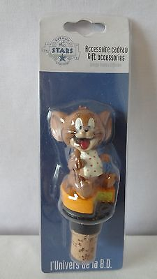 Warner Brothers 2001 Tom And Jerry Avenue Of Stars Jerry Wine Cork MIB #G399
