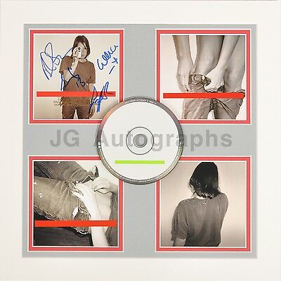 """New Order - English Rock Band - Authentic Autographed """"Get Ready"""" Display"""