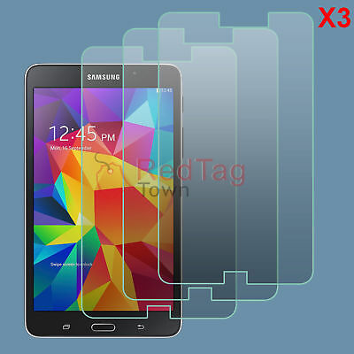 3x HD Clear LCD Screen Protector Guard for Samsung Galaxy Tab 4 7.0 SM-T230NU
