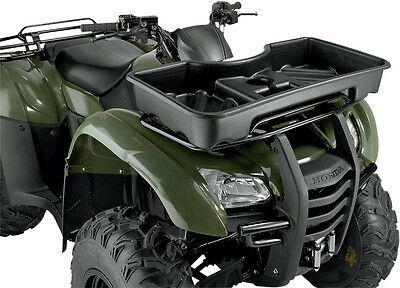 Moose Racing Front Basket Without Cover Black ATV