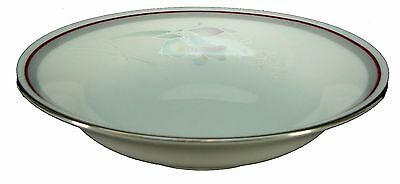NORITAKE china MALVERNE 3501 Platinum FRUIT dessert sauce BERRY BOWL 5-3/4""