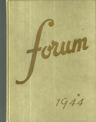 1944 Senn High School Yearbook Chicago