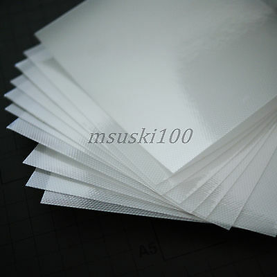 Hot fix Transfer Mylar Acrylic Paper Sheets Rhinestone Diamante Gem Craft Tool