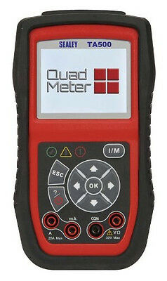 Sealey TA500 EOBD Codes Reader Quad Meter Automotive Analyser Vehicle RRP-299