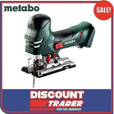 Metabo 18V Lithium-Ion Cordless Jig Saw - STA 18 LTX 140 SK