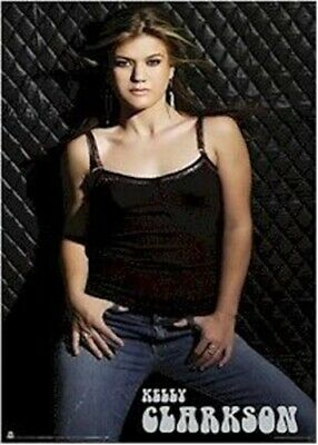 KELLY CLARKSON POSTER ~ JEANS 22x34 Music