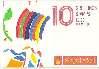GB 1989 Greetings Booklet FY1 cat£48
