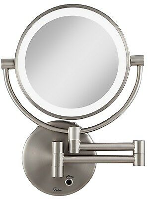 Zadro  5X/1X Magnification Cordless LED Lighted Wall Mount Makeup Mirror LEDMW45