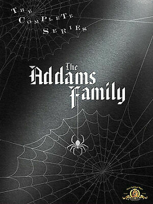 The Addams Family Complete TV Series Season 1-3 64 EPISODES NEW 9-DISC DVD SET