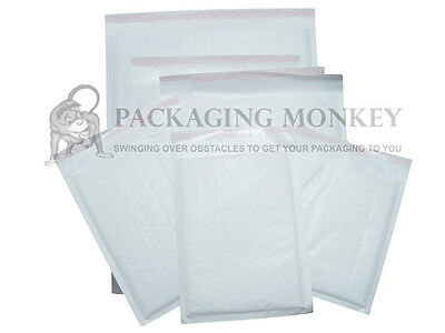 100 x White Padded Bubble Envelopes Bags 90x145mm EP1 (A7 Size) *SPECIAL PRICE*