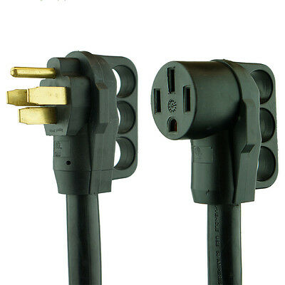 15 foot 50 amp RV Extension Cord Power Supply Cable for Trailer Motorhome Camper