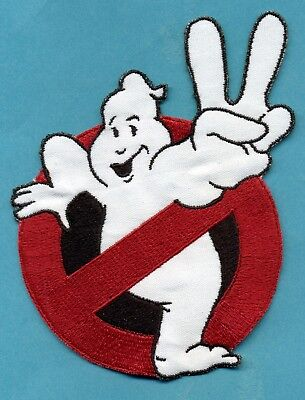 Ghostbusters 2 Style Embroidered No Ghost Iron-On Patch