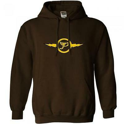 The Pixies: Lightning P Logo Pullover Hoody / Hooded Sweatshirt - New & Official