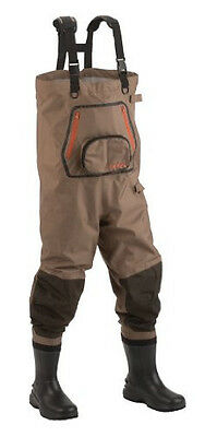 Hodgman Men's Pipestone Breathable Booted Chest Waders with Work Table (Size 8)