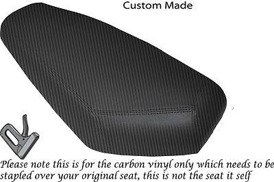 BLACK /& RED CUSTOM FITS SUKIDA VIPER 50 DUAL LEATHER SEAT COVER ONLY