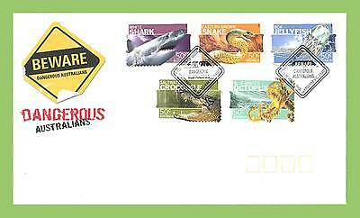 Australia 2006 Dangerous Wildlife self adhesives  First Day Cover