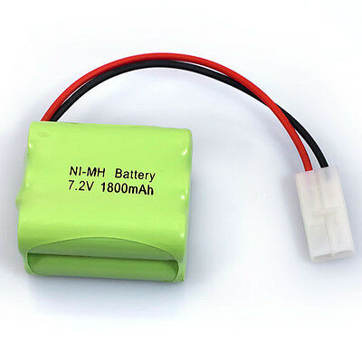 Practical 7.2V 1800mAh 6x AA NIMH RC Rechargeable Battery Pack Modle-4 For Toys