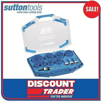Sutton Heavy-Duty Bi-Metal Cobalt Holesaw Kit General Engineering - H105S14