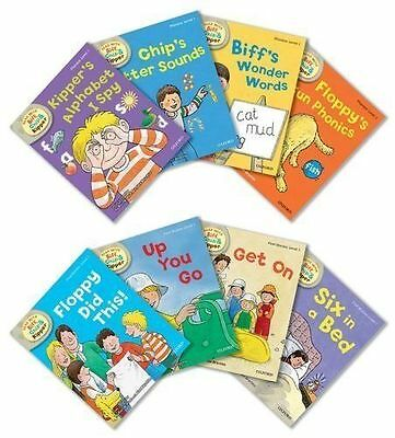 Oxford Reading Tree Read With Biff Chip & Kipper Collection 8 Books Set Level 1