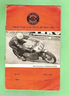 #d68. The Wirral  Motorcycle Club Booklet, July 1964