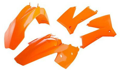 Acerbis Plastic Kit KTM 125-525 EXC 2005-2007 Orange 2071130237