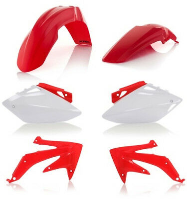 Acerbis Replacement Plastic Kit For Honda CRF450R 2005-2006 Red White 2071100206