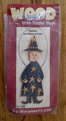 Witch Wood & Wire Kit to Paint and Hang by Walnut Hollow Open Complete