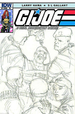G.I. Joe #198 (NM)`14 Hama/ Gallant  (VARIANT)