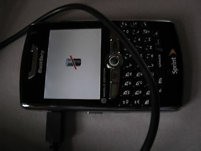BlackBerry 8830 Black Sprint Smartphone Untested for Parts or Repair Cell Phone