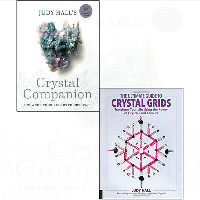 Crystal Grids Collection Books Ultimate Guide Power Of Layouts 2 Books Set NEW