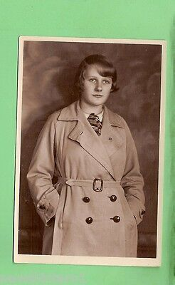 #c. Postcard Of Young German Woman In Wwii
