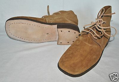 Brogans - Brown Leather - (Undyed) - Size 12 - Civil War - L@@K!