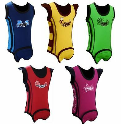 TWF Tots Wrap Baby Neoprene Wetsuit Warma Toddler Baby 0-6m 6-12m 12-18m