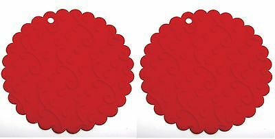 Norpro 566 Non-slip Silicone Jar Openers Trivets, 2 pack