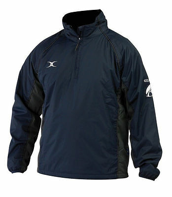 Gilbert Storm Rugby Training Jacket (Black/Grey & Navy/Grey) All Sizes