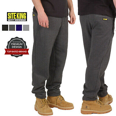 Mens Jogging Bottoms By SITE KING Size S to 5XL - FLEECE TRACKSUIT TROUSERS WORK