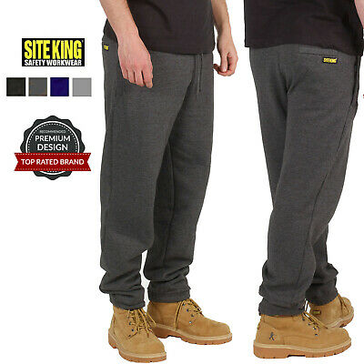 Mens Work Jogging Bottoms By SITE KING Size S to 5XL FLEECE TRACKSUIT / SK-018
