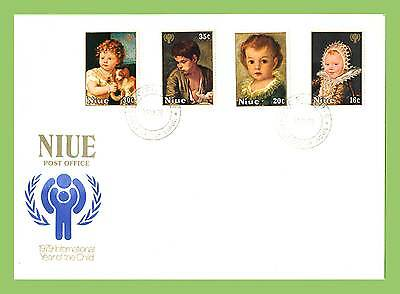 Niue 1979 International Year of the Child set  First Day Cover