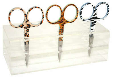 """Animal Print Embroidery Scissors, Sewing & Quilting Thread, 3.5"""""""