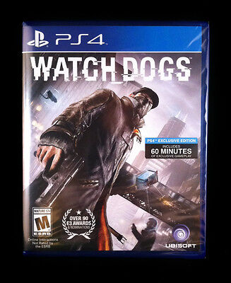 Watch Dogs  Watchdogs (Sony PlayStation 4, 2014) BRAND NEW / Region Free