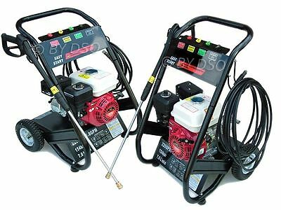 2,200 Psi 5.5hp 4 Stoke OHV Petrol Pressure Washer - NEW