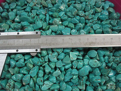 100g  Mini Natural Turquoise Rough Rock Polished Dyed Green China