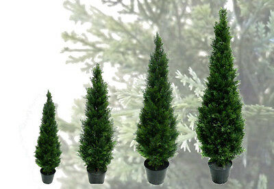 Best Artificial Topiary Cedar Conifer Outdoor Trees alt Boxwood Ball Bay Garden