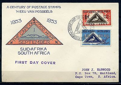 A Century Of Postage Stamps 1.sept.1953 Capetown       Ch703