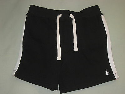 New Sz 4 Polo Ralph Lauren Shorts 4T Black Red White