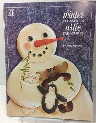 Winter Pleasures Artic Treasures Kelly Hoernig Tole Painting Designs Book