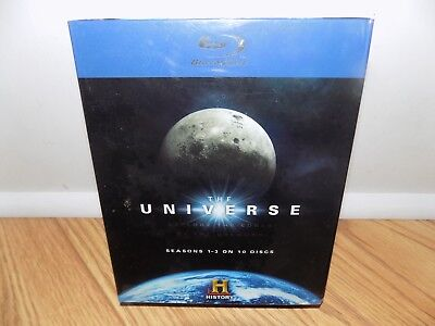 The Universe: The Complete Seasons 1-3 (Blu-ray 2009) 10-Disc Set - BRAND NEW!